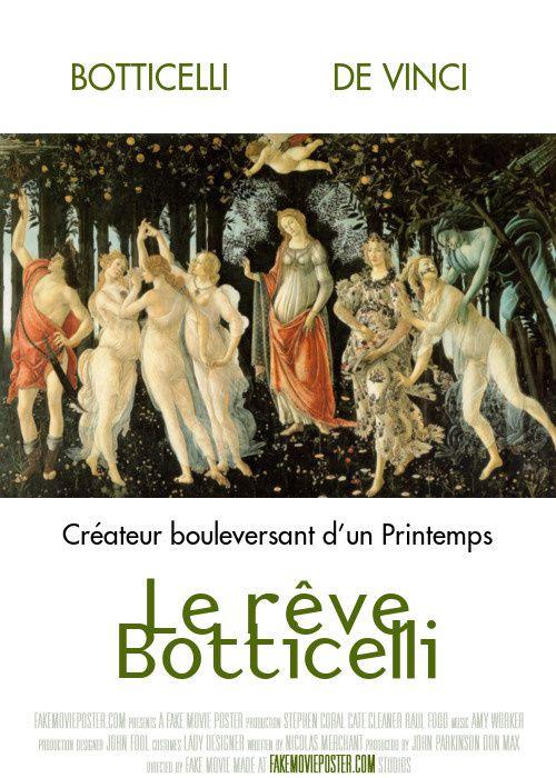 Affiche sur le livre Le rêve Botticelli