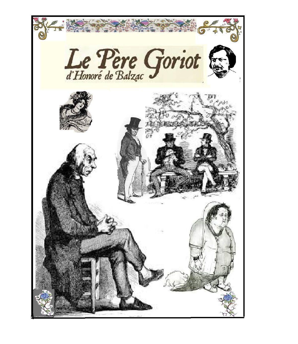 Couverture - Le père Goriot