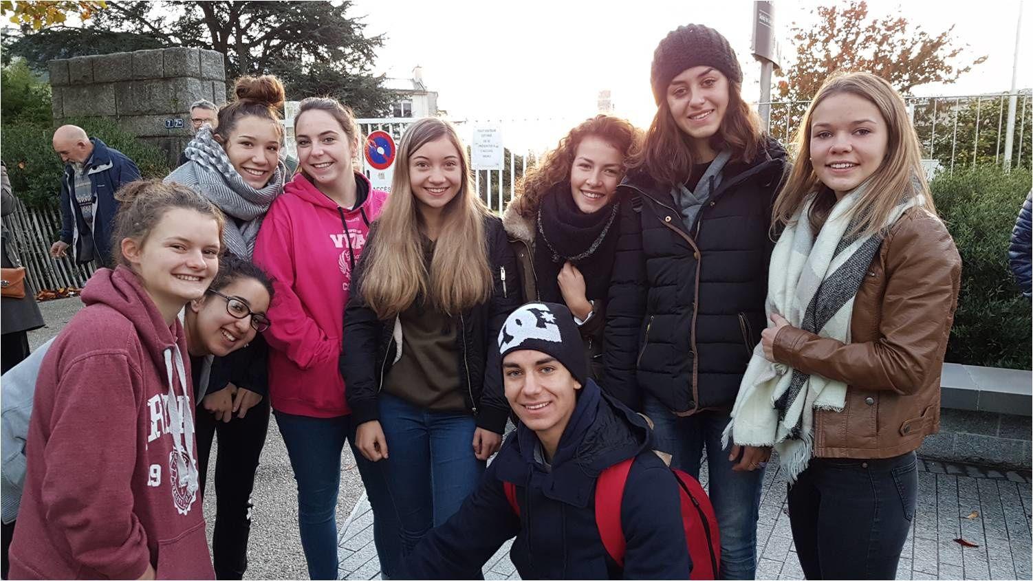 11-11-16, Lycée de l'Iroise, Brest : So long, Italians !