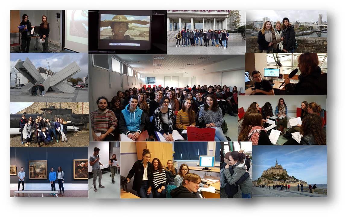 A découvrir : l'album-photos du voyage à Brest des lycéens italiens d'i-voix