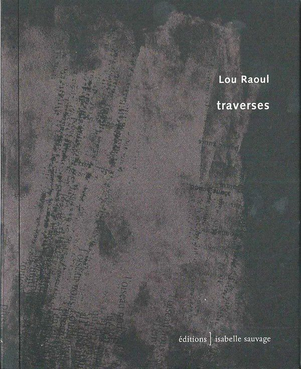 Couverture du recueil de Lou Raoul.