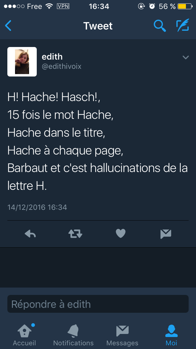 Tweet-Rhétorique - Jacques Barbaut
