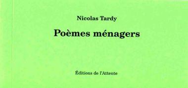 Appréciation - Nicolas Tardy