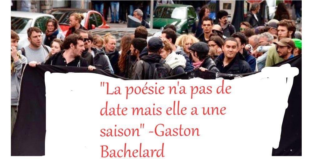 Poème-slogan - Gaston Bachelard