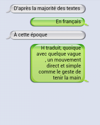 SMS - Jacques Barbaut