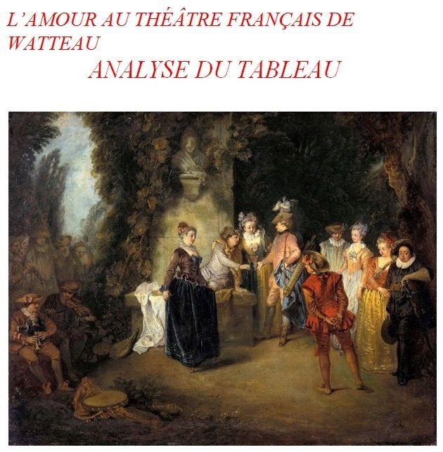 Analyse d'un tableau de Watteau