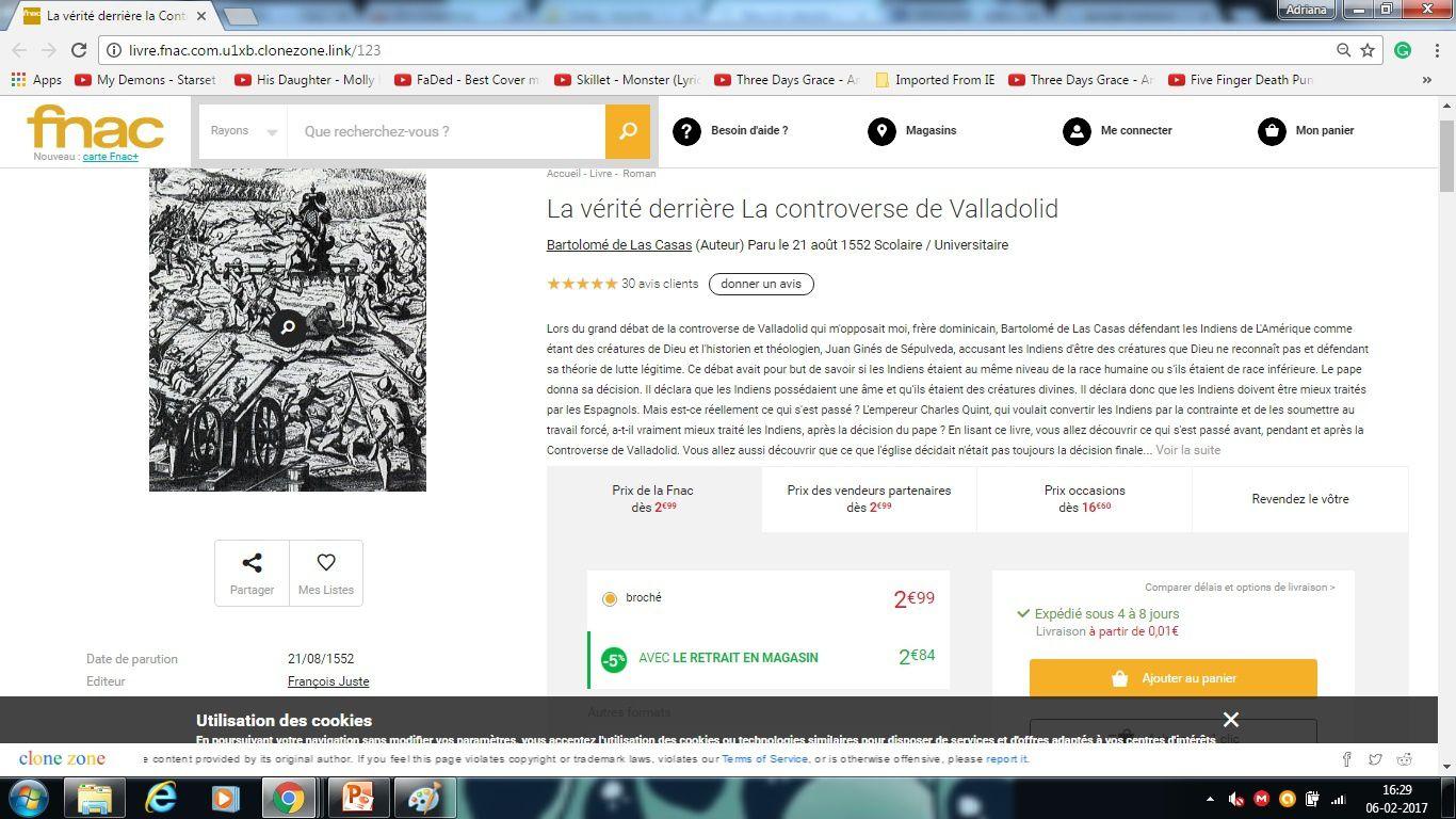 Détournement - La controverse de Valladolid