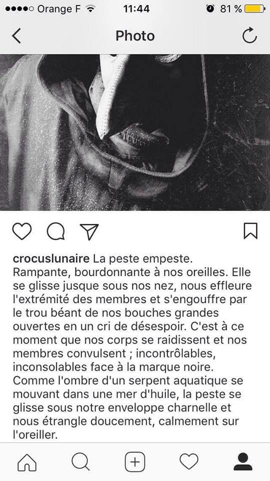 Détournement - L'Œuvre au noir sur Instagram !