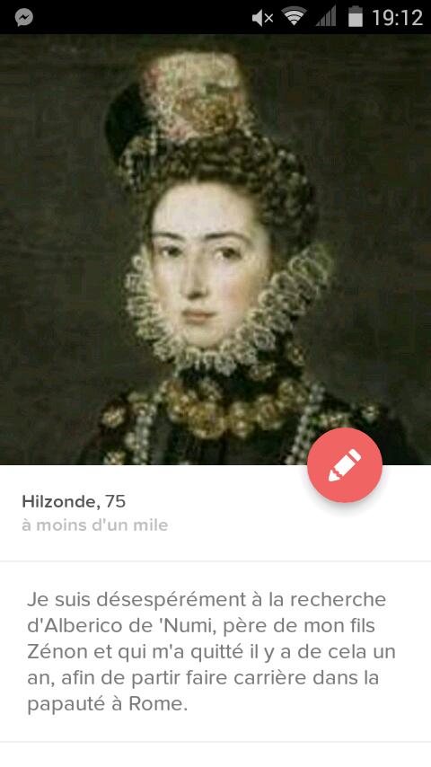 Aperçu du profil de mademoiselle Hilzonde Ligre