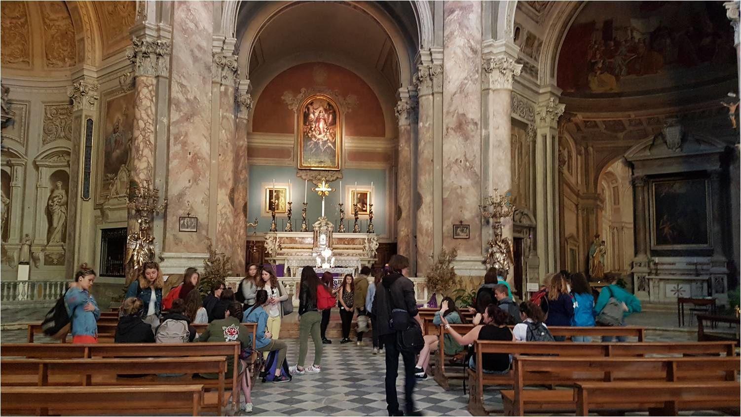 Livourne, église Sainte Catherine, 03/04/17 16:20