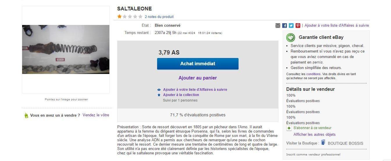Pillage à Volterra - Saltaleone