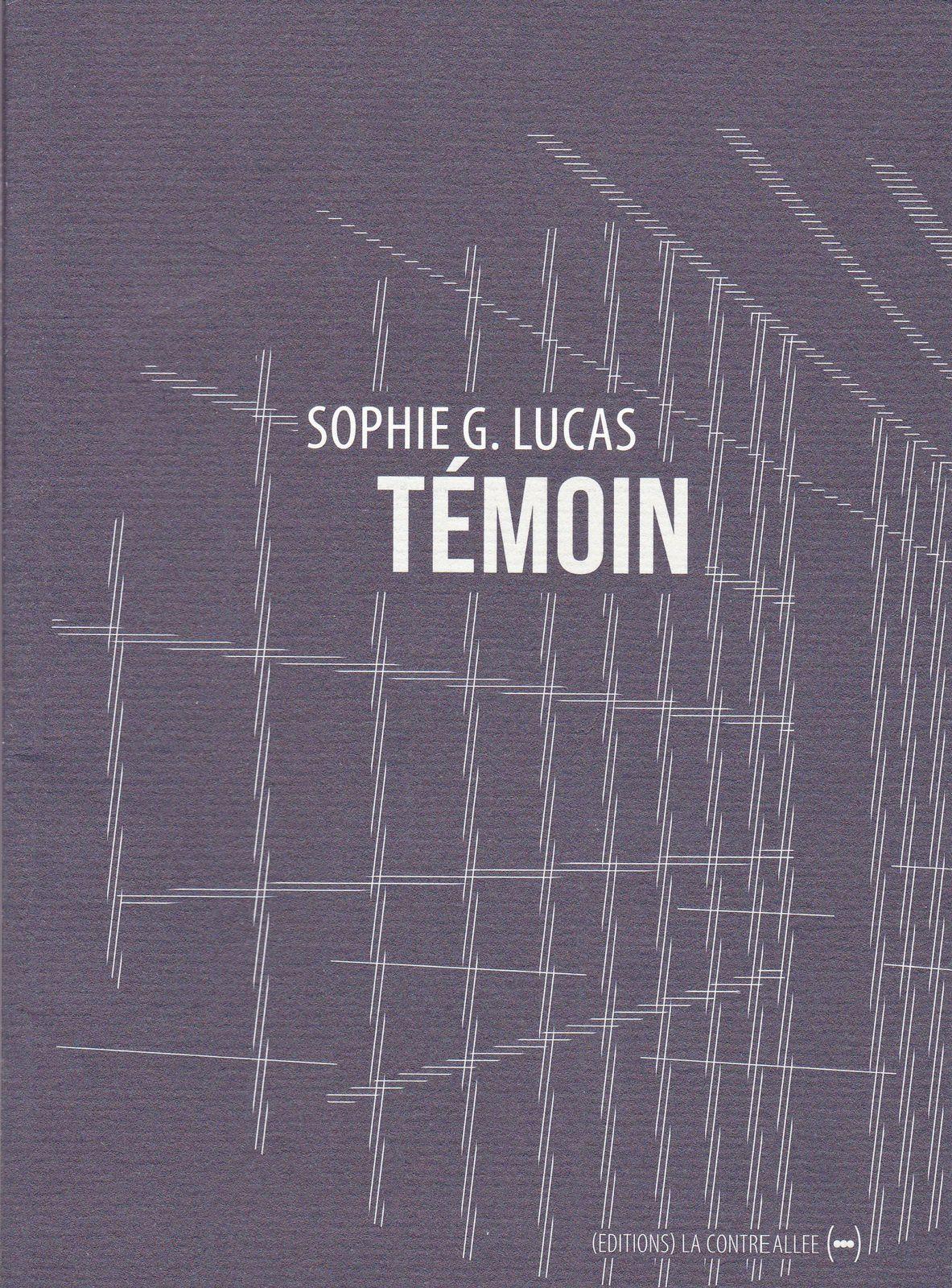 Questions - Sophie G. Lucas