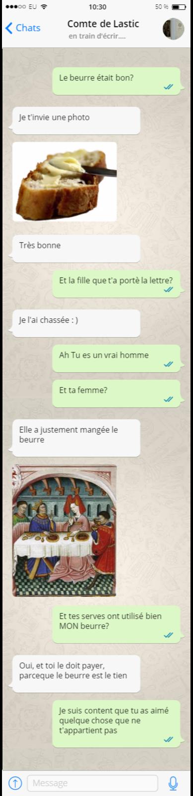 Conversation entre le comte de Lastic et Rousseau