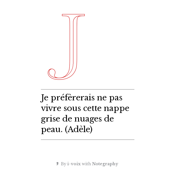 Bartleby tweete - Nappes