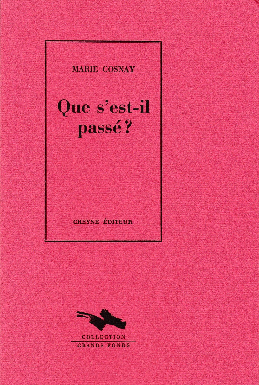 Election - Marie Cosnay