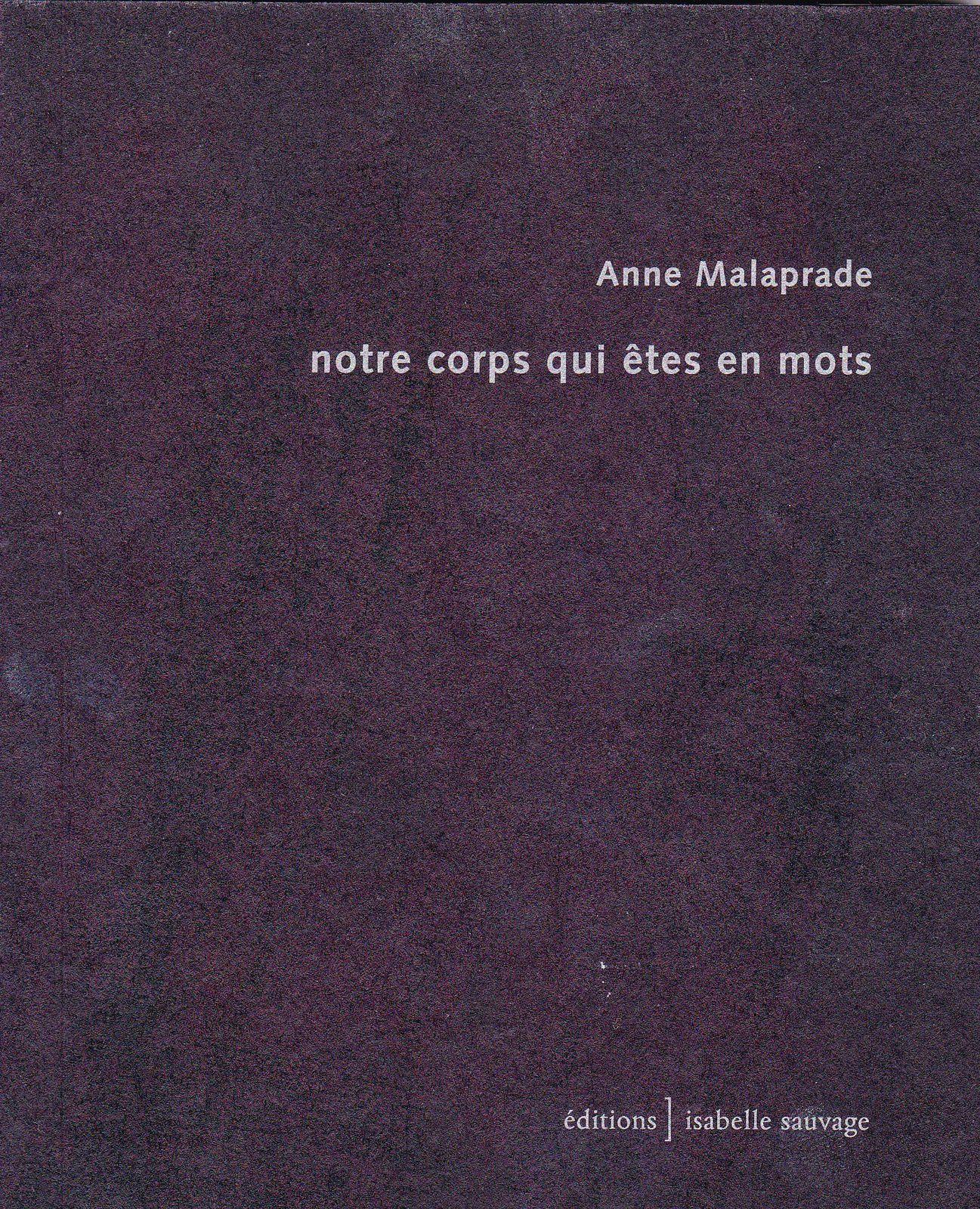 Election - Anne Malaprade