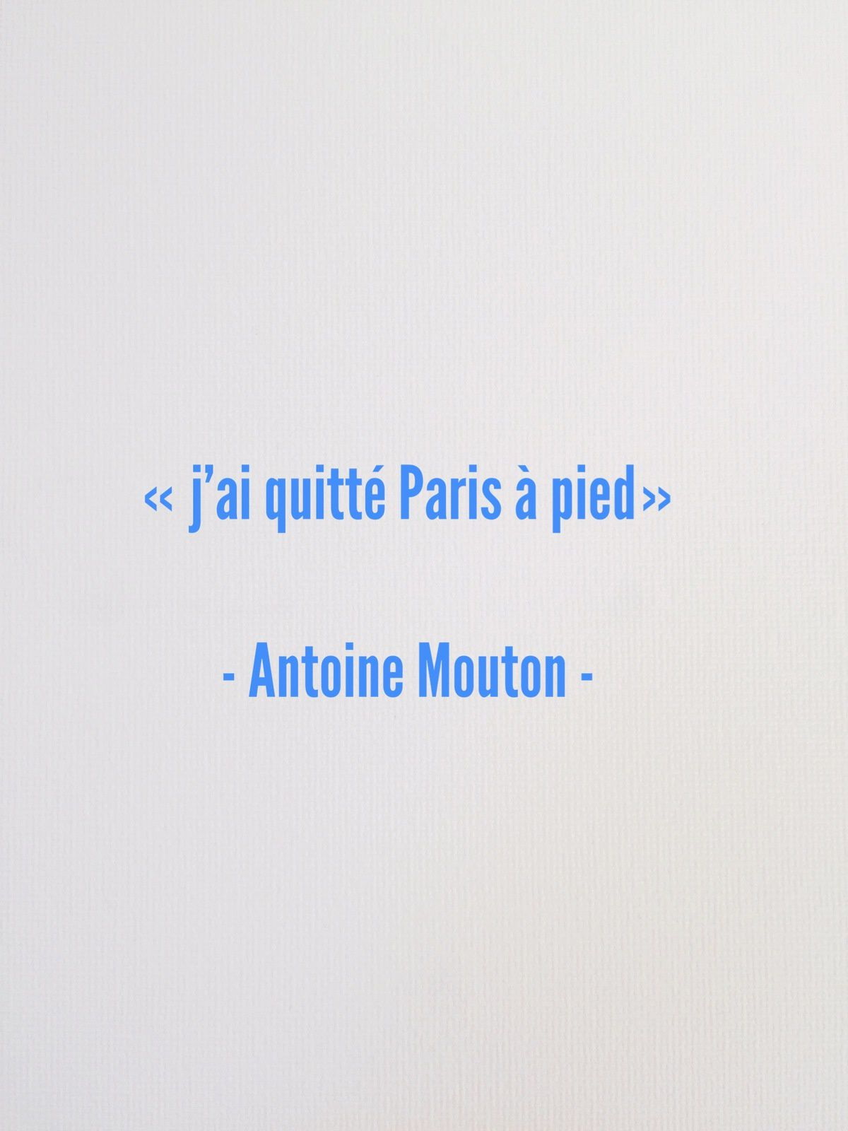 Dilatation - Antoine Mouton