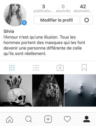 Instagram - Silvia, Acte I, scène 2