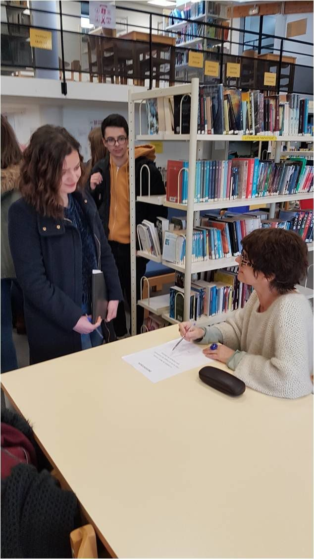 Rencontre avec Marie Cosnay - Inspiration