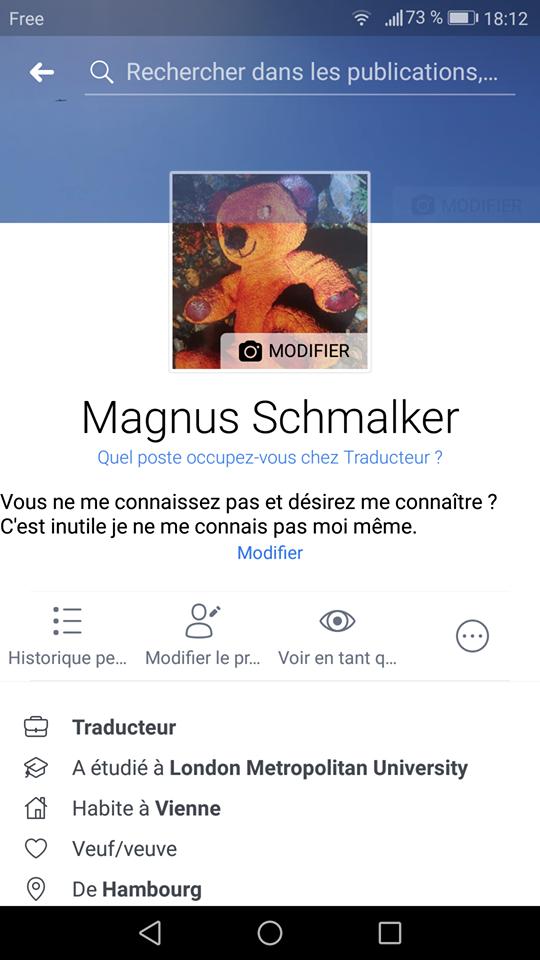 Traces numériques - Facebook Vienne