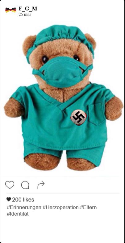 Traces numériques - Instagram Hambourg