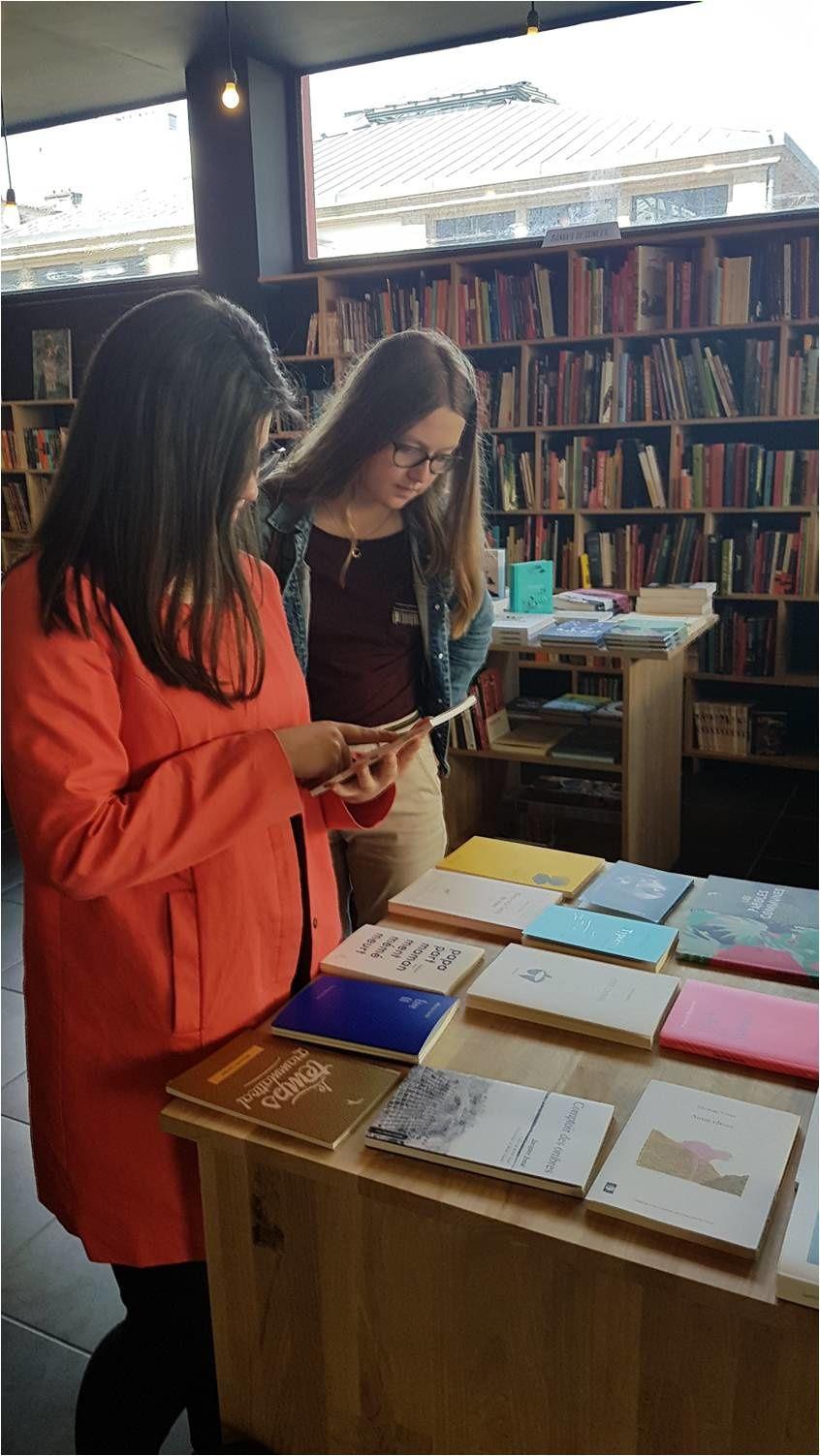 Fait divers littéraire - Braquage de librairie à Brest