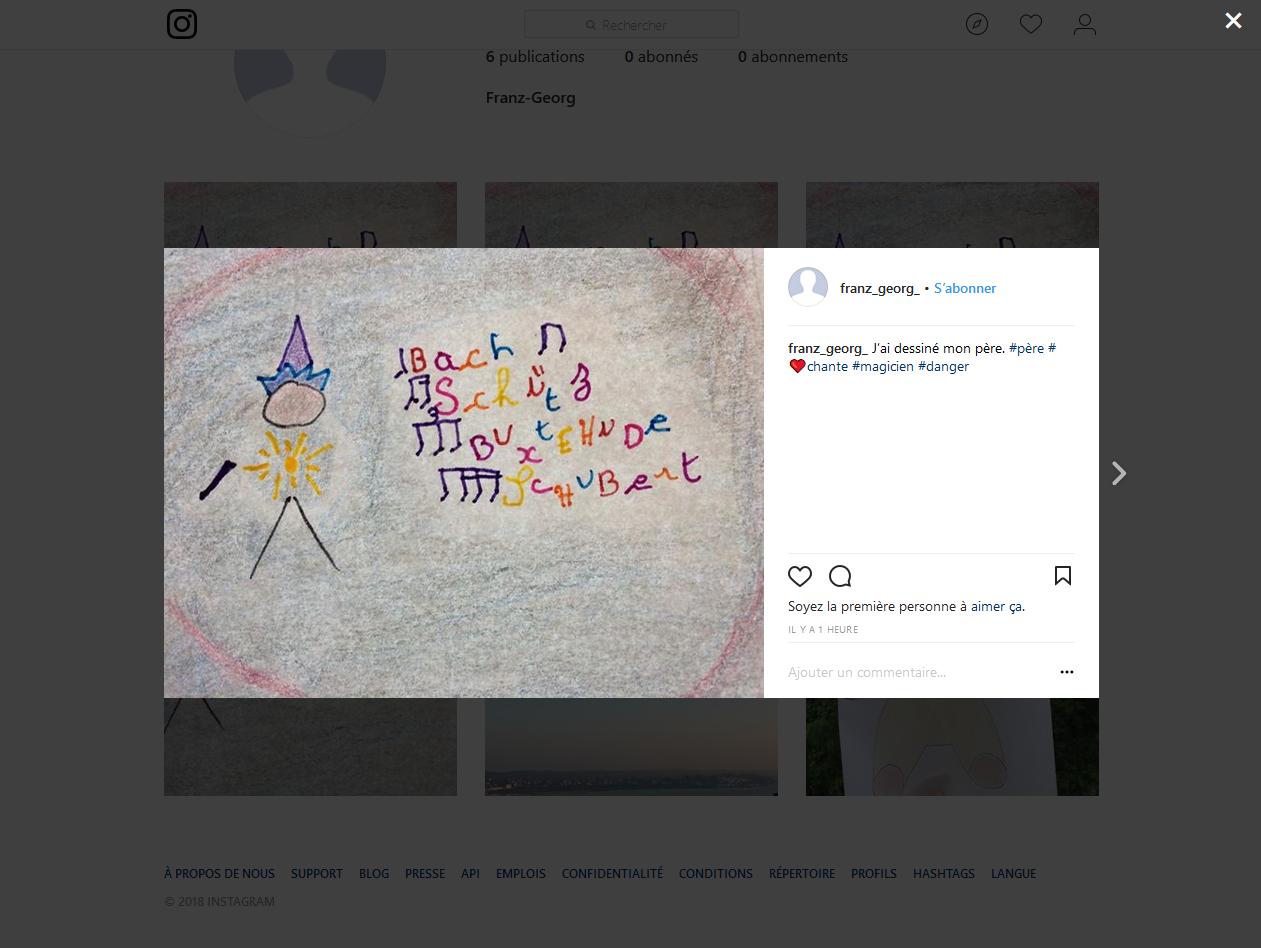 Traces numériques - Instagram Bergen Belsen