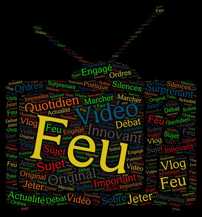 Florilège - Nuages de mots 2017-2018