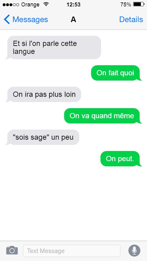 Florilège 2017-2018 - SMS littéraires