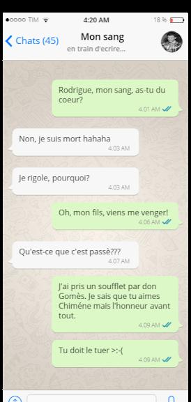 Le Cid - Scène V – Don Diègue, don Rodrigue