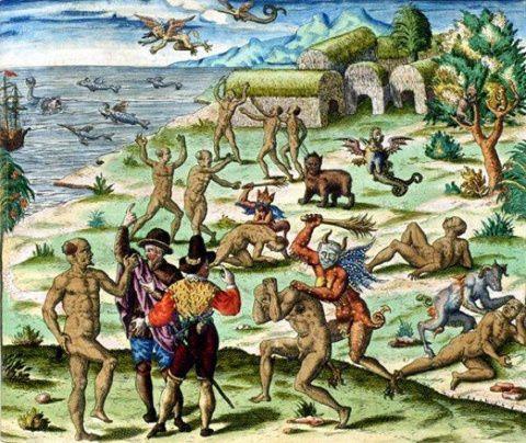 Art - Représentations des amérindiens