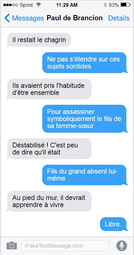 SMS - Paul de Brancion