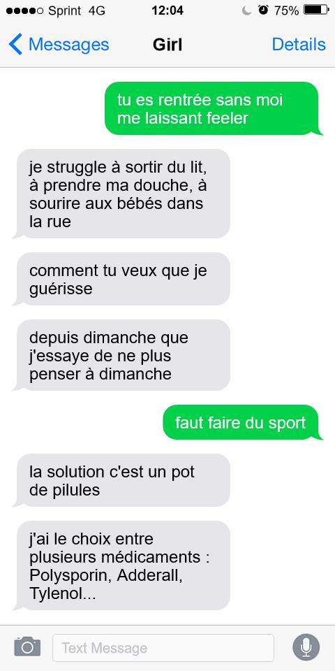 SMS - Marie Darsigny