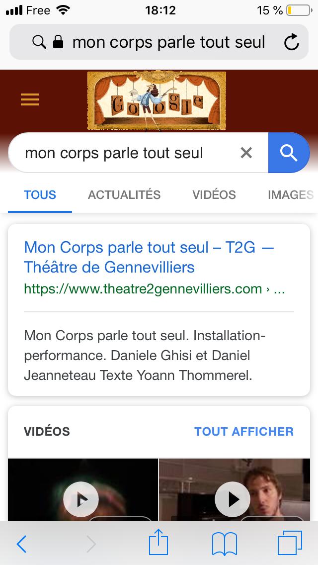 A la recherche d'un vers -  Yoann Thommerel