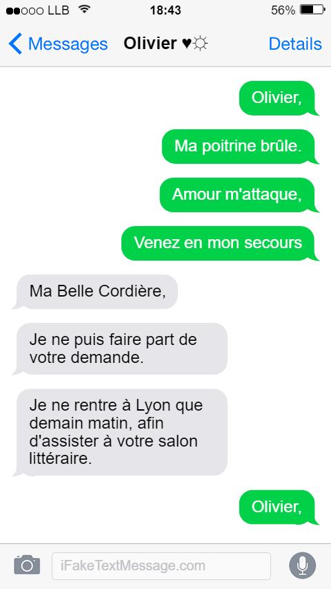 Dans le smartphone de Louise Labé - Sonnet IV
