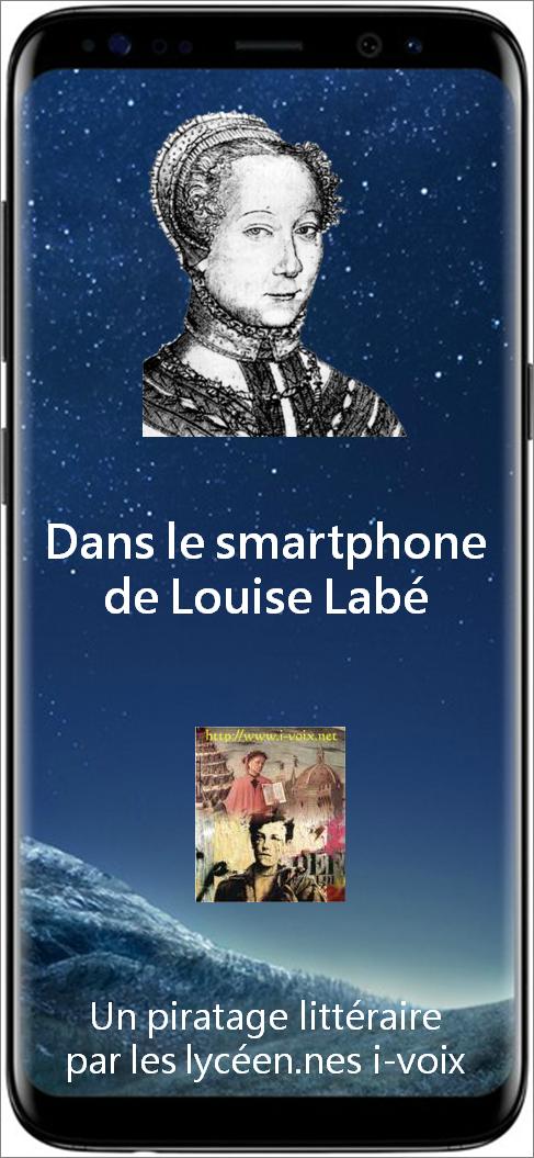 Dans le smartphone de Louise Labé - Sonnet X