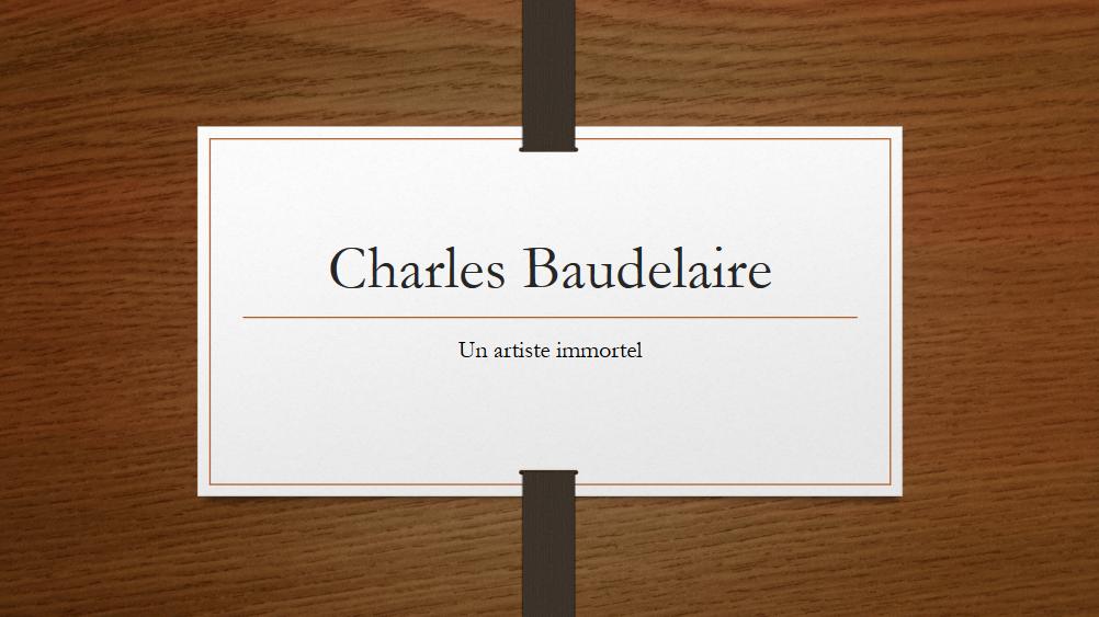 Association - Baudelaire-Piaf