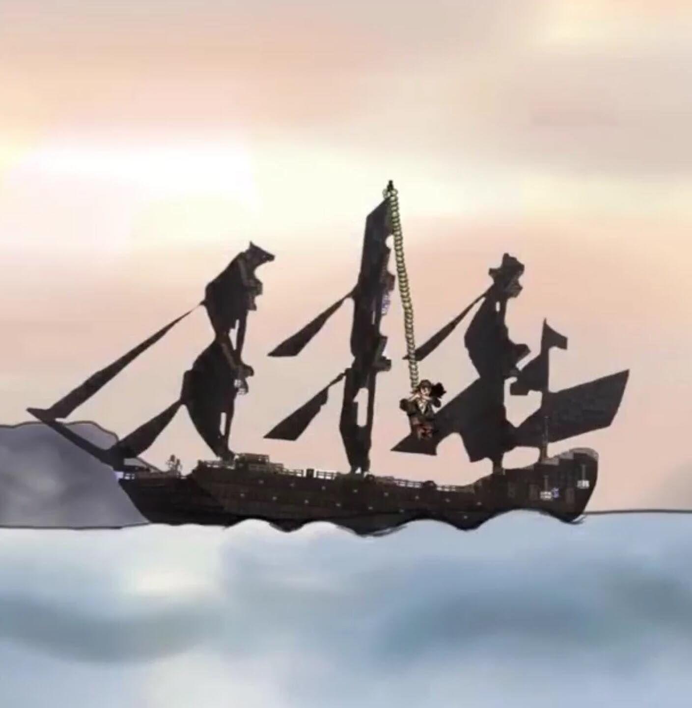 Dessins que j'ai réalisés de Jack Sparrow (vous ne serez pas ce genre de pirate)