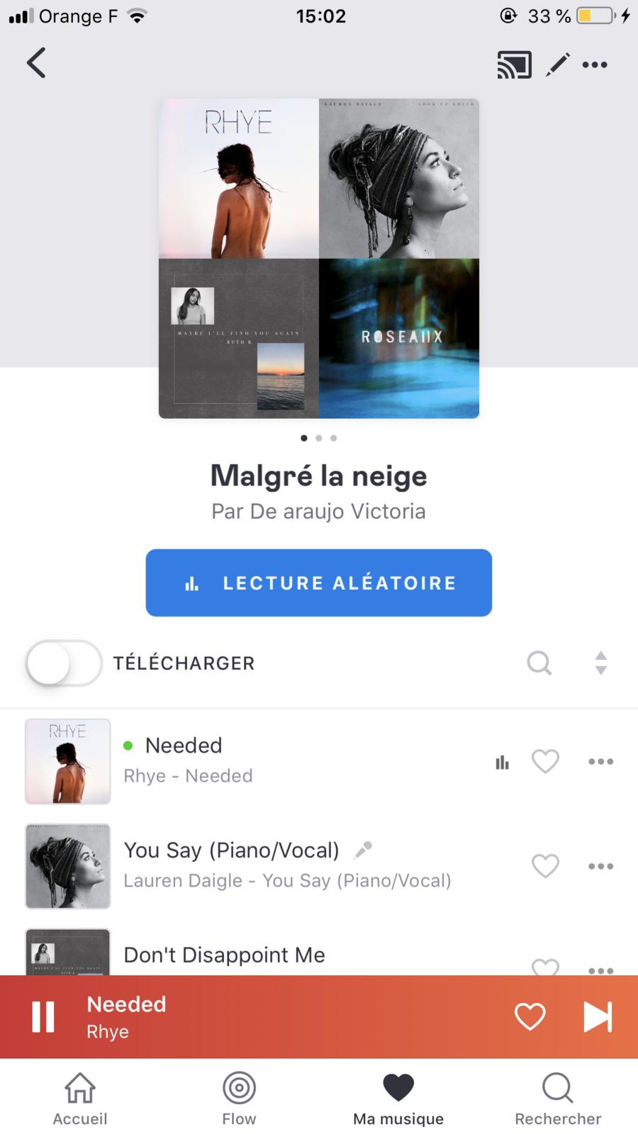 Playlist - Julie Delaloye
