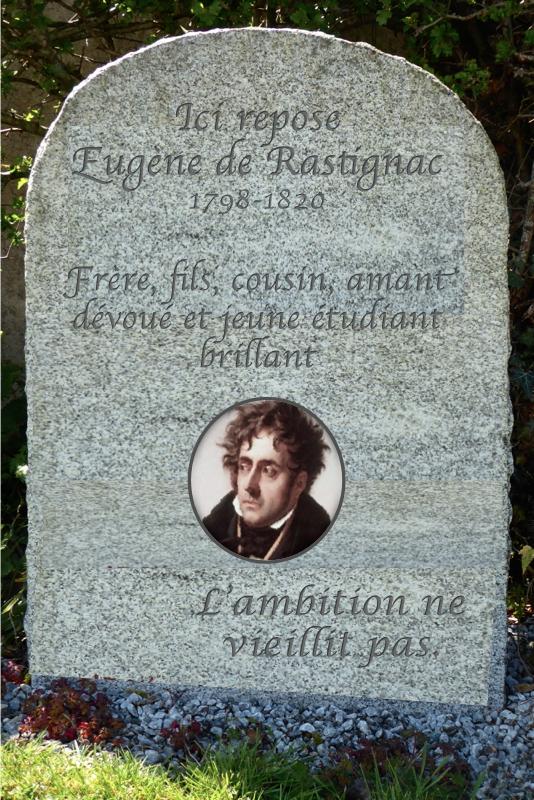 L'épitaphe d'Eugène de Rastignac