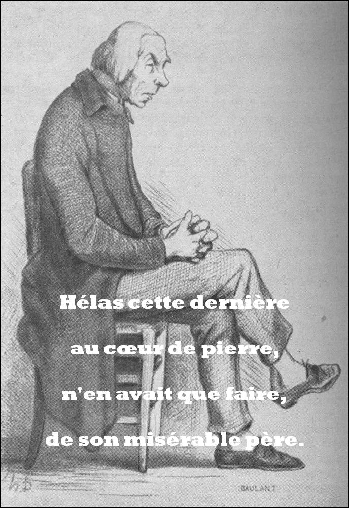 Oraison funèbre de Joachim Goriot