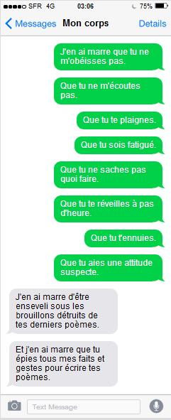 Florilège - SMS littéraires 2018-2019
