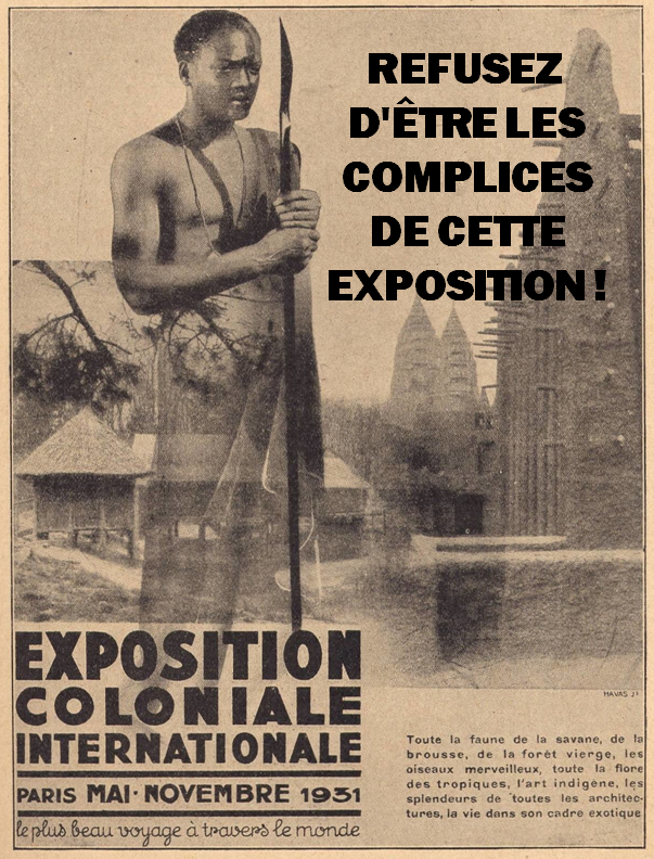 Éditorial - Exposition coloniale : sauvagerie occidentale ?