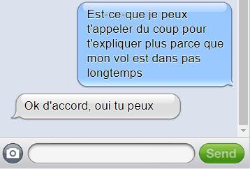 Trace numérique - SMS Jeanne