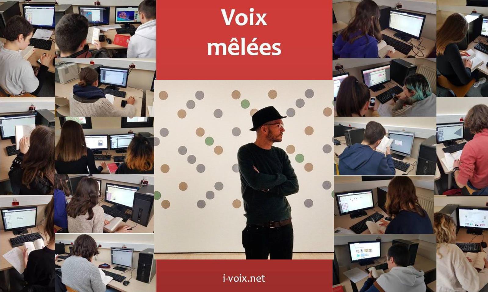Voix mêlées - Echanges avec Pierre Vinclair