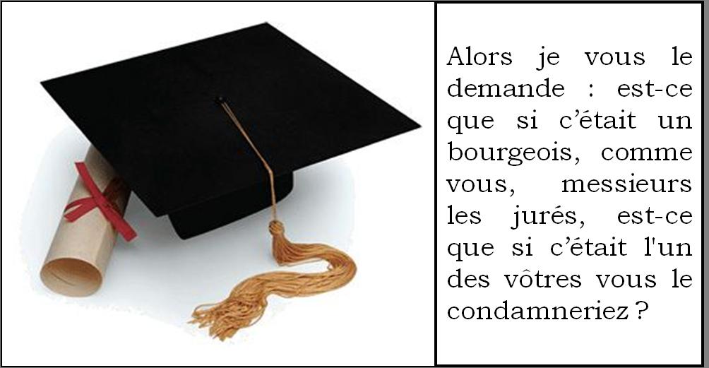 Plaidoirie - Le procès de Julien Sorel