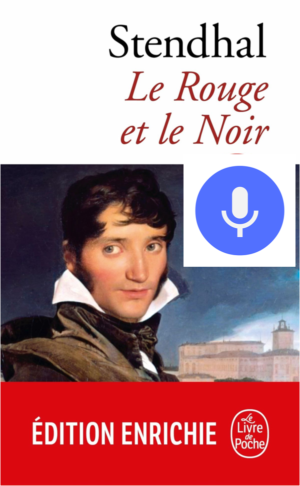 Dans le smartphone de Julien Sorel - Message audio