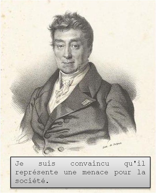 Le procès de Julien Sorel - Réquisitoire