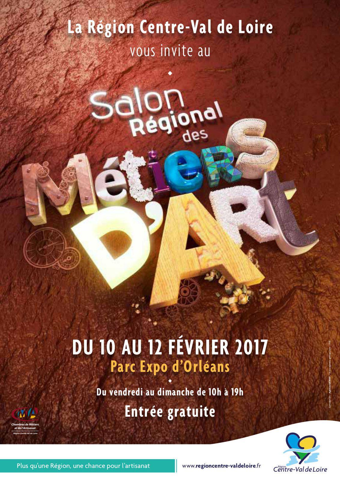 Salon Régional des Métiers d'Art à Orléans