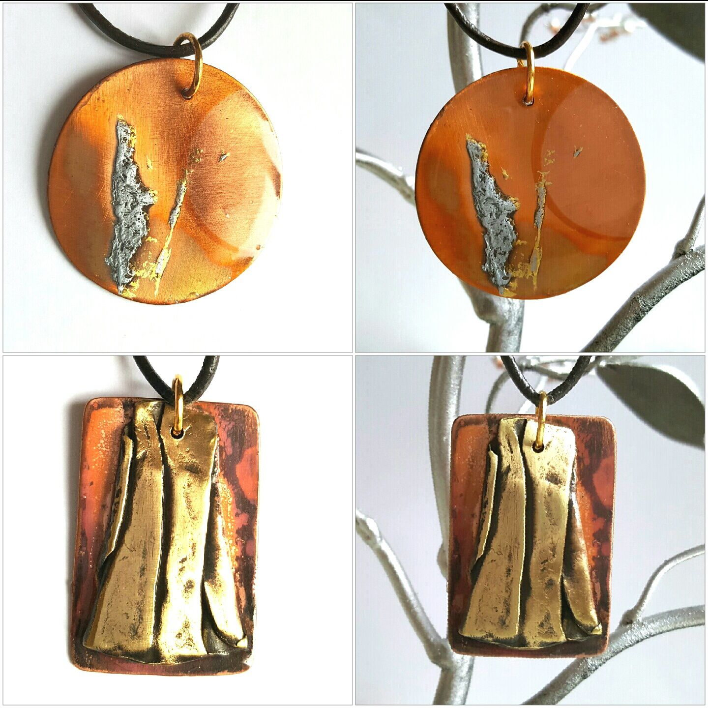 Le cuivre en bijoux